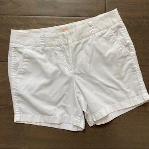 J. Crew Factory Chino Size 4 White 100% Cotton